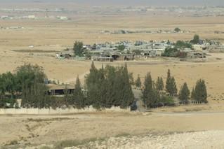 Bedouin village in Negev (Photo: Ronit Sela)