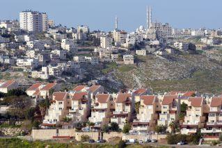 Palestenian Village & a Settlement