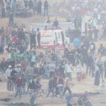 demonstrations in Gaza