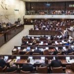 plenary session of the Knesset
