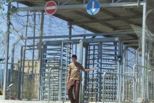 מחסום ראס ח'מיס. צילום: האגודה לזכויות האזרח