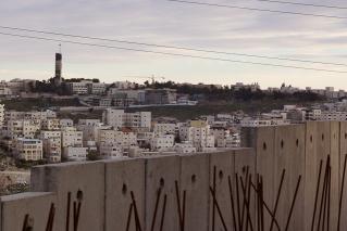 השכונות שמעבר לחומה. צילום: מארק גריי